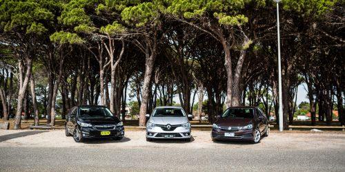 Holden Astra v Renault Megane v Subaru Impreza – Small hatchback comparison