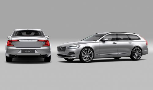 First Drive Review : The Volvo S90 Sedan and V90 Wagon Are Swedish for 'Sexy'