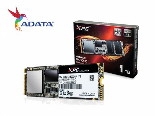 Adata XPG SX8000 512GB PCIe NVMe M.2 SSD review