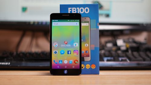 Cherry Mobile FB100 Hands-on Review: Unboxing – Unofficial Facebook Phone
