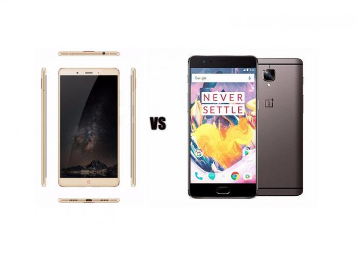 ZTE Nubia Z11 vs OnePlus 3T Comparison