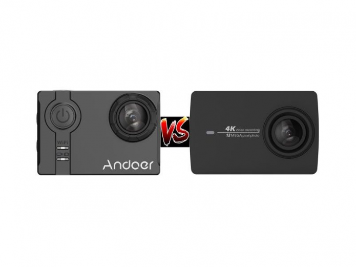 Andoer 4K action camera vs Yi 4K action camera – A 4K battle between the best camera