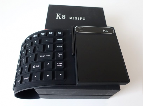 K8 Mini PC Review : A Mini PC With Folding Keyboard