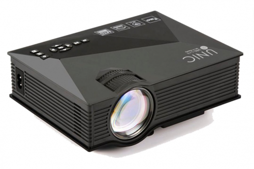 UNIC UC46 LCD Projector Review : Business-grade device for just $71