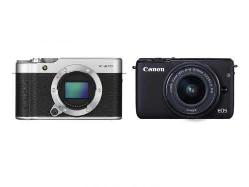 Fujifilm X-A10 vs Canon EOS M10 Comparison Review
