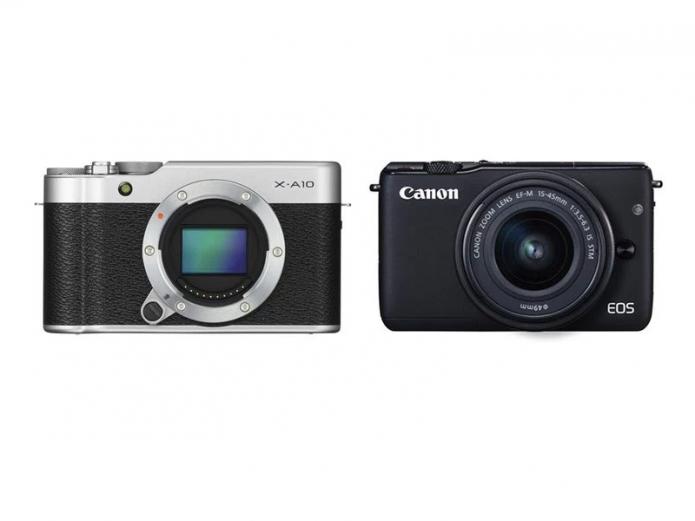 Fujifilm X-A10 vs Canon EOS M10 Comparison Review