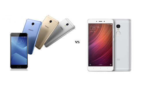 Meizu M5 Note VS Xiaomi Redmi Note 4 Comparison Review