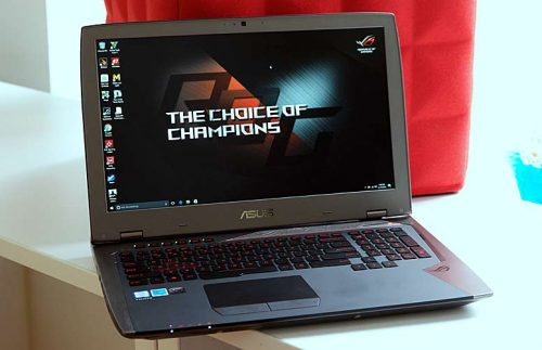Asus ROG G701VI Review