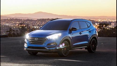 2016 Hyundai Tucson Night Review