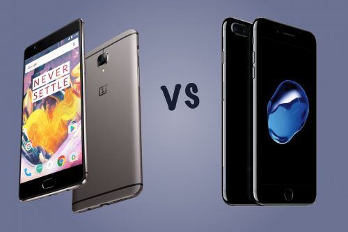 OnePlus 3T vs Apple iPhone 7 Plus: Battle of the big phones