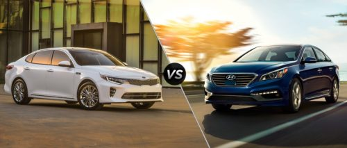 Hyundai Sonata vs. Kia Optima: Buy This, Not That