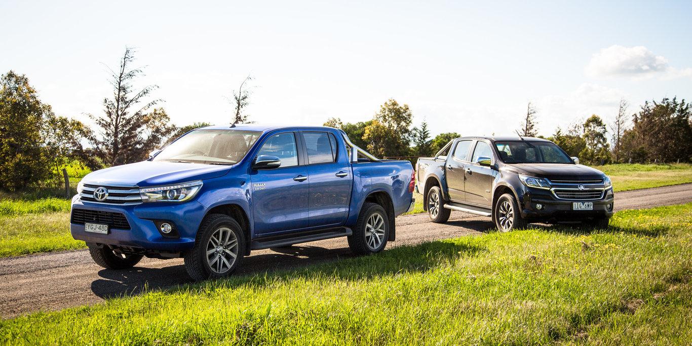 Holden Colorado Ltz V Toyota Hilux Sr5 Comparison Gearopen