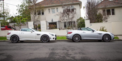 Mercedes-AMG Old v New Comparisons : 2015 SLK55 v 2017 SLC43