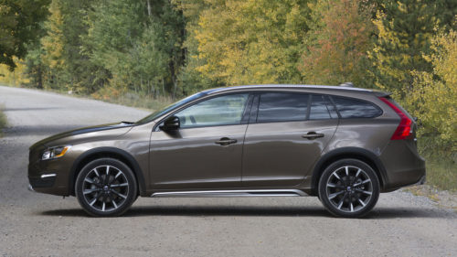The Volvo V60 Cross Country Is a Wagon for People Who Split Firewood for Fun