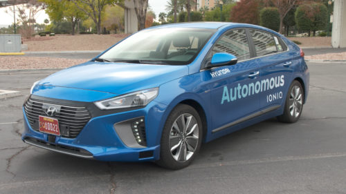 Hyundai's Self-Driving Ioniq Review : Amazingly Smart, Can Cause Road Rage