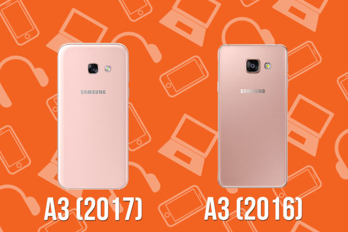 Head-to-Head : Samsung Galaxy A3 (2016) vs Samsung Galaxy A3 (2017)