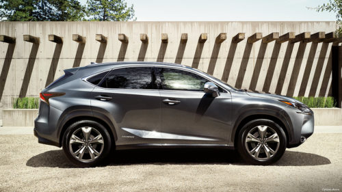 The Lexus NX300h Is for Aspiring Suburban Royalty