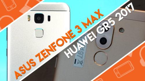 Head-to-Head : Huawei GR5 2017 vs ASUS Zenfone 3 Max 5.5