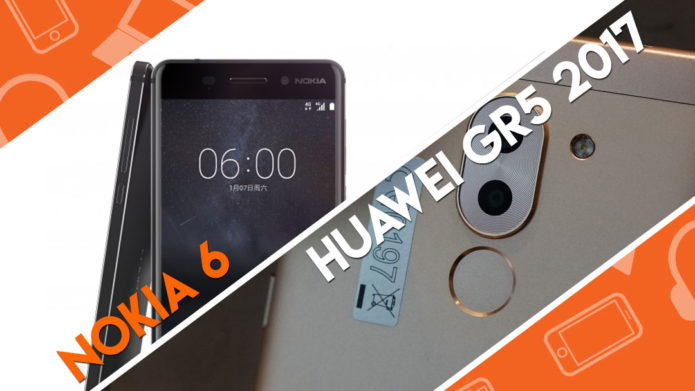 Head-to-Head : Huawei GR5 2017 vs Nokia 6