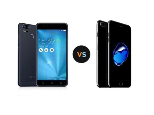 Specs Comparison : ASUS ZenFone 3 Zoom vs Apple iPhone 7 Plus