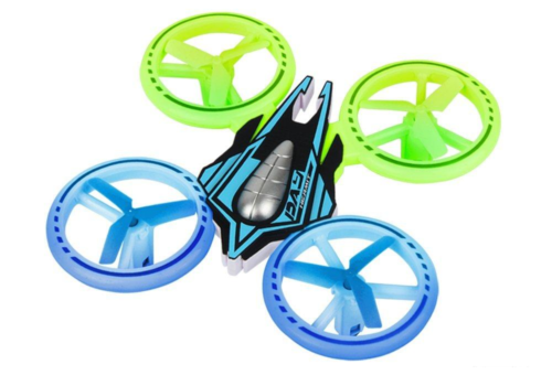 UFO JXD 399 Colorful Light RC Quadcopter Mini Drone Review