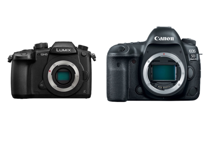 Panasonic GH5 vs Canon 5D Mark IV Comparison