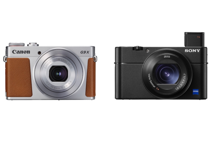 Canon G9 X Mark II vs Sony RX100 V Comparison