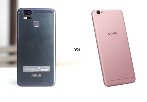Head-to-Head : ASUS Zenfone 3 Zoom vs Vivo V5