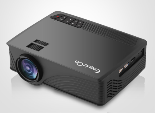 Exquizon LED GP12 Portable Projector Review : Mobility & Usability for just $70.99