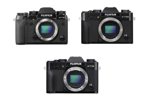 Fujifilm X-T20 vs X-T10 vs X-T2 Comparison