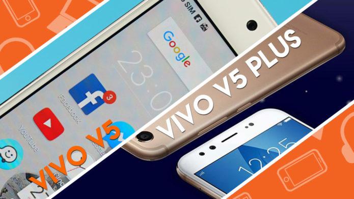 Head-to-Head : Vivo V5 Plus vs Vivo V5