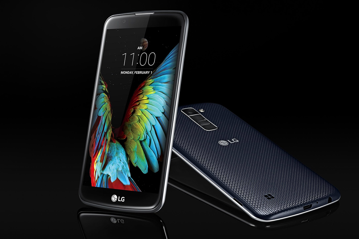 how to turn on fingerprint on lg k10