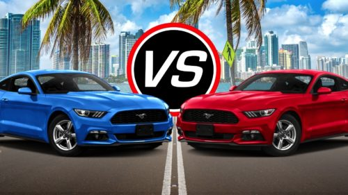 Ford Mustang EcoBoost vs. Mustang V6: Buy This, Not That