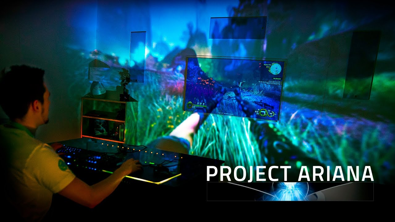Razer Project Ariana Hands On At Ces 2017 Gaming Room