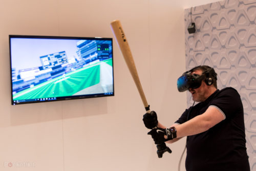 HTC Vive Tracker preview: Turns baseball bats, guns and more into VR controllers