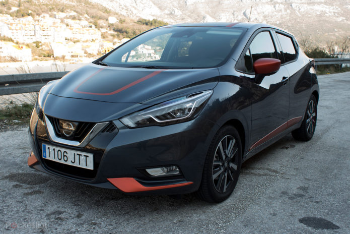 nissan micra 2017 first drive same name different personality gearopen. Black Bedroom Furniture Sets. Home Design Ideas