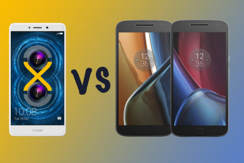 Honor 6X vs Moto G4 vs Moto G4 Plus: What's the difference?