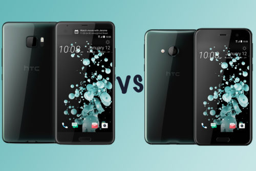 HTC U Ultra vs HTC U Play: What's the difference?