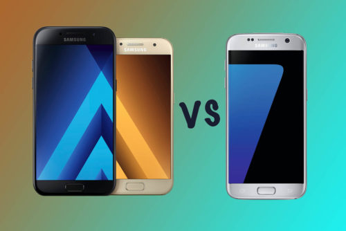 Samsung Galaxy A5 vs A3 vs S7: What's the difference?
