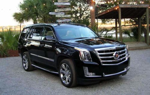 2017 Cadillac Escalade Platinum review