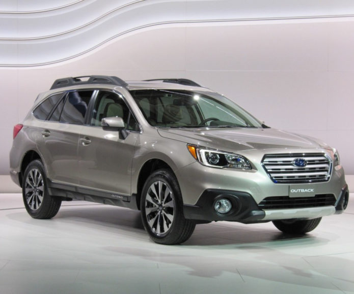2017 Subaru Outback Front Side