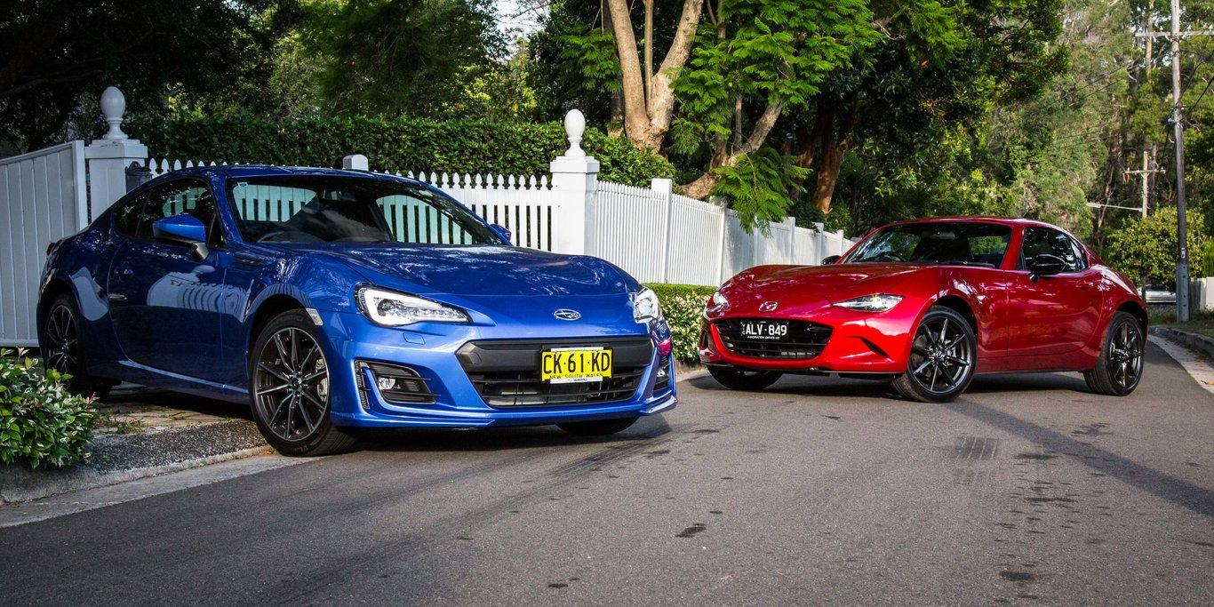 Mazda Mx 5 Rf V Subaru Brz Comparison Gearopen