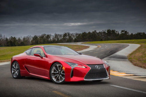 5 Things you need to know about the 2018 Lexus LC