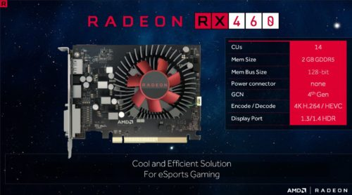 AMD Radeon RX 460 review