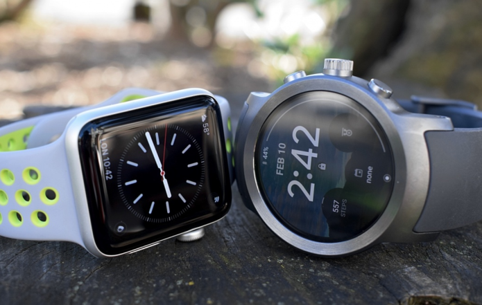 Apple Watch v Android Wear : The battle for smartwatch supremacy