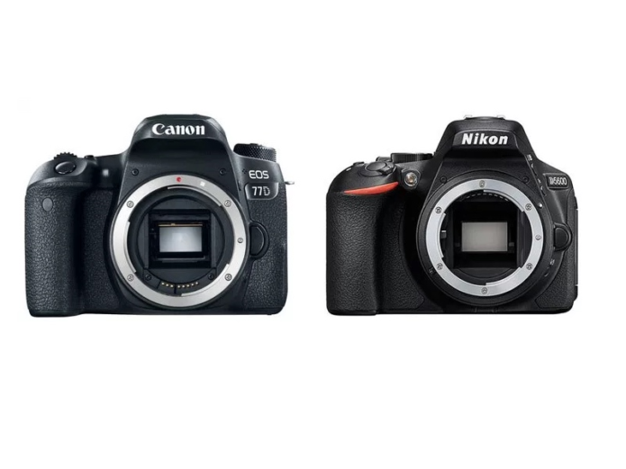 Canon 77D vs Nikon D5600 Comparison