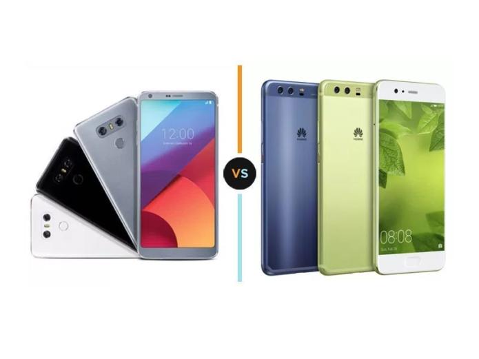 LG G6 vs Huawei P10 Plus Specs Comparison
