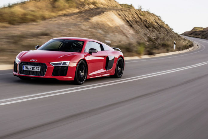 4 Rings Flying : 15 of the Fastest Audis Ever Produced