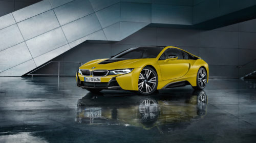 2017 BMW I8 Protonic Frozen Yellow Edition Review