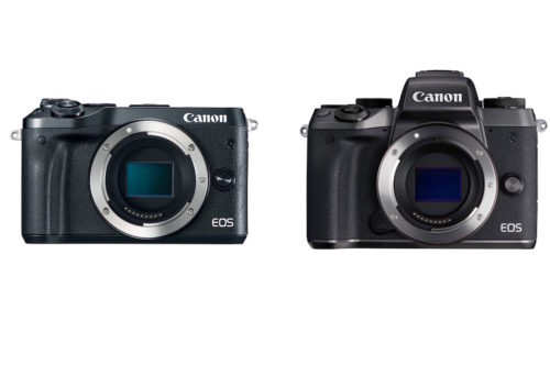 Canon EOS M6 vs EOS M5 Specifications Comparison